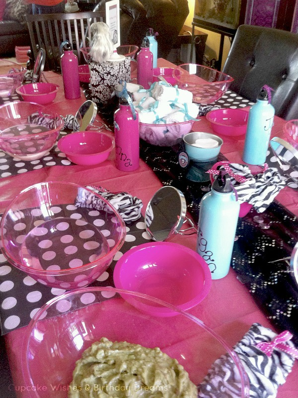Monster High Spa Party Facial Station