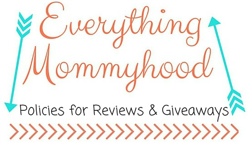 Policies for Reviews & Giveaways