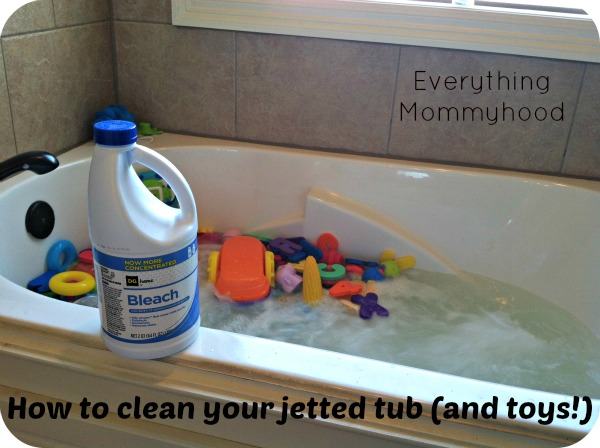 Cleaning Tip How To Clean Your Jetted Tub And Bath Toys