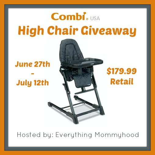 combiEvent Giveaway: Combi High Chair 6/27 7/12