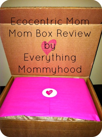 Subscription Box Ecocentric Mom Mom Box For June