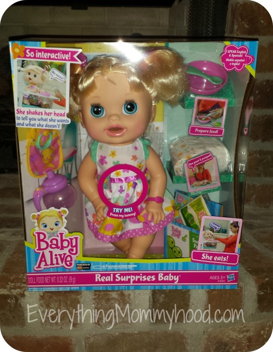 Baby Alive Real Surprises Baby Review   Giveaway - ends 12 20 - Everything  Mommyhood b1528d0b83