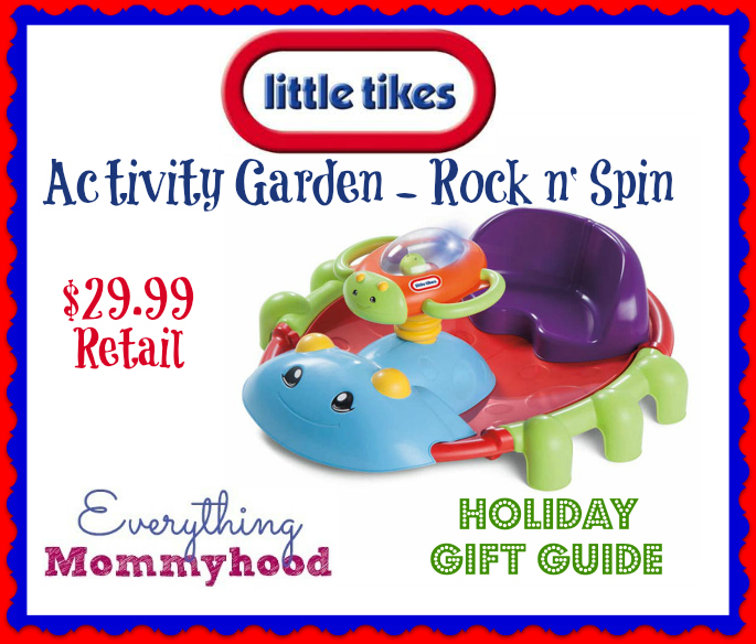 Little Tikes Activity Garden Rock N 39 Spin Review Everything Mommyhood