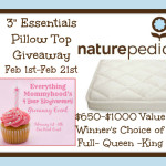 Blogger Opp: Naturepedic Mattress Topper $650-$1000 Value