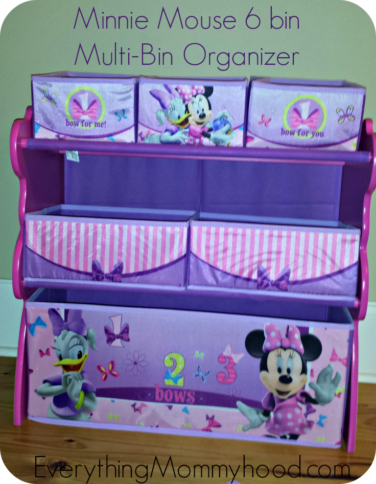 Great Disney Minnie Mouse Storage Bin Designs