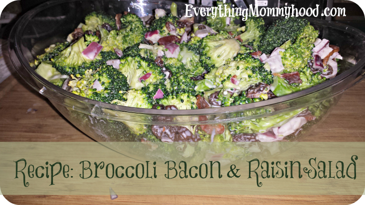 BroccoliRaisinSalad