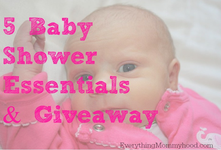 baby shower essentials and giveaway ends 8 20
