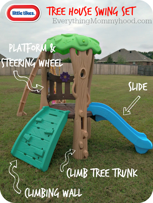 Little Tikes Swing Set Tree