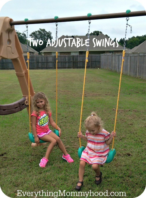 little tikes tree swing set 2