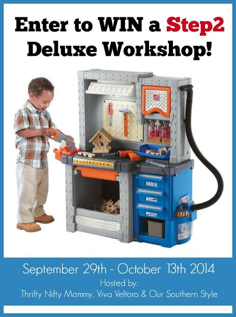 Step2: Step2 Deluxe Workbench Giveaway
