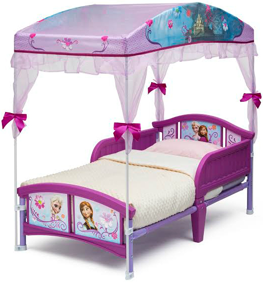 FrozenToddlerBed