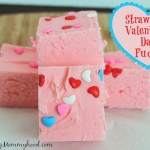 Strawberry Valentine's Day Fudge