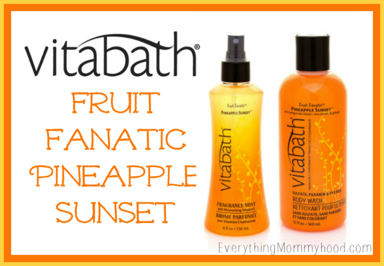 Vitabath Fanatic Pineapple Sunset