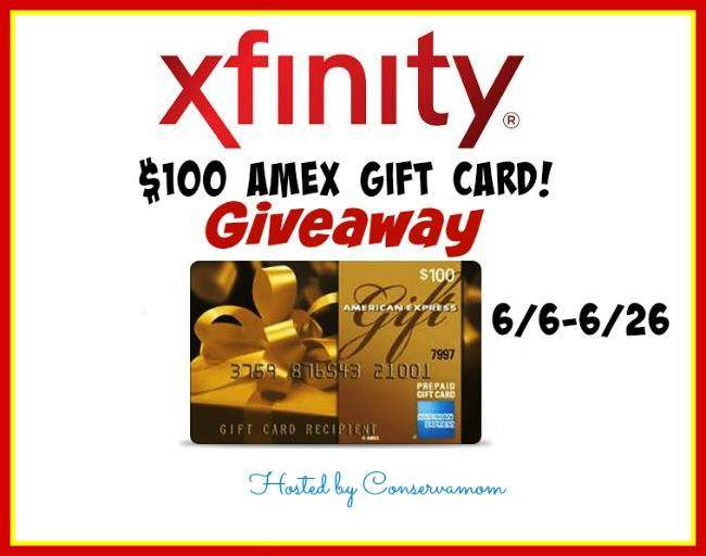 100 American Express Gift Card Giveaway From Xfinity Ends 6 26