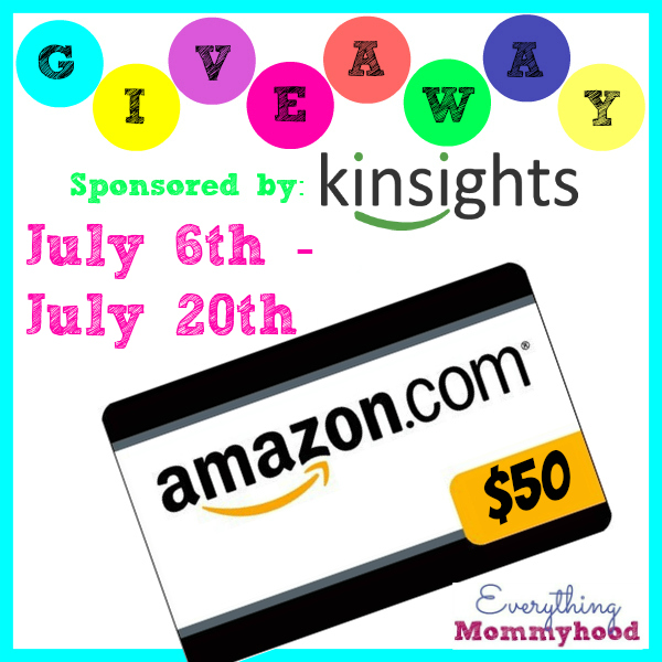 Want to win some extra spending money? Enter to win a $50 Amazon Gift Card here!