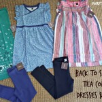 Back to School with Tea Collection Dresses & Leggings #BackToSchool