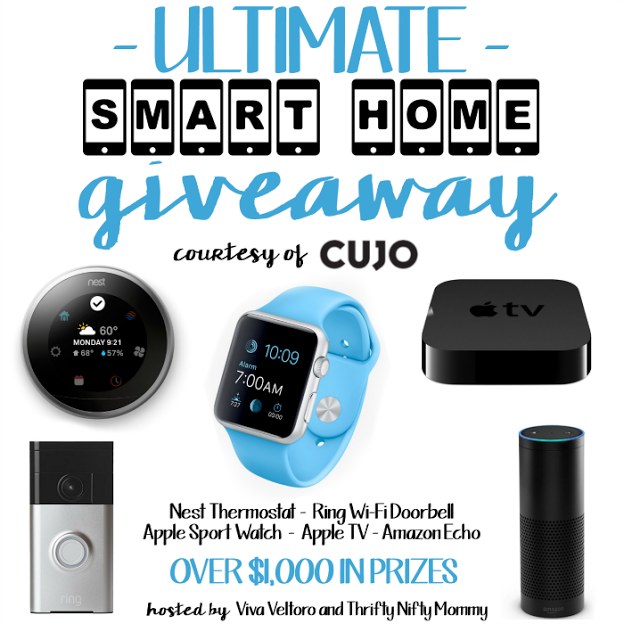 smart home giveaway nest thermostat apple watch apple tv and more ends 10 6. Black Bedroom Furniture Sets. Home Design Ideas