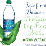 New from Dasani – The Green Cap Plant Bottle #GreenBottleCap