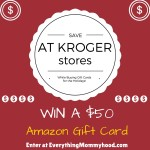 Save Money While Buying Gift Cards – Double Dip at Kroger! Plus a $50 Amazon Gift Card Giveaway – ends 12/8