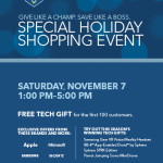 Special Holiday Shopping Event at Best Buy this Saturday November 7th! #WinTheHolidaysSweepstakes