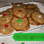 Recipe: Chewy Dark Chocolate Mint Cookies featuring American Heritage Chocolate