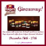 Entertain this Holiday Season with Folgers Gourmet Selections & a Giveaway – ends 12/27 #FolgersGourmetHoliday