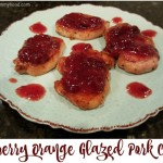 Recipe: Cranberry Orange Glazed Pork Chops #SmithfieldPork