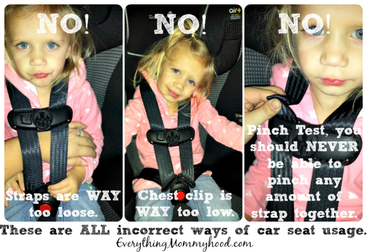 Danger With Kids In Car Seats With Jacket