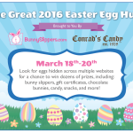 Bunny Slippers + The Great 2016 Easter Egg Hunt – Win Prizes!