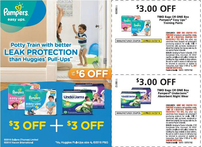 Today's top Pampers coupon: Up to $2 Off Special Offers & Coupons. Get 3 coupons for