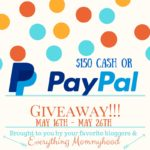 $150 Cash or PayPal Giveaway OPEN WORLDWIDE – ends 5/26