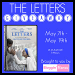 The Letters DVD Giveaway – 8 Winners – ends 5/19