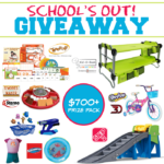School's Out Giveaway $700+ Prize Pack – ends 7/1