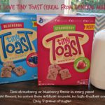 New for Your Kids, Tiny Toast Cereal from General Mills #Kroger #TinyToastCereal