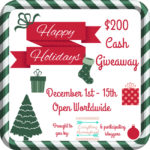 $200 Holiday Cash Giveaway – ends 12/15