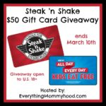 Kids Eat Free All Day Every Day at Steak 'n Shake & $50 Gift Card Giveaway – ends 3/10