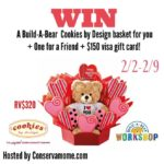Build-A-Bear Valentine's Giveaway and $150 Visa Gift Card – ends 2/9
