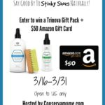Trinova Gift Pack and $50 Amazon Gift Card Giveaway – ends 3/31