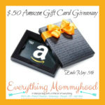 $50 Amazon Gift Card Giveaway – ends 5/5