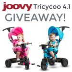 Joovy Tricycoo – It Grows with Your Child Giveaway – ends 7/25